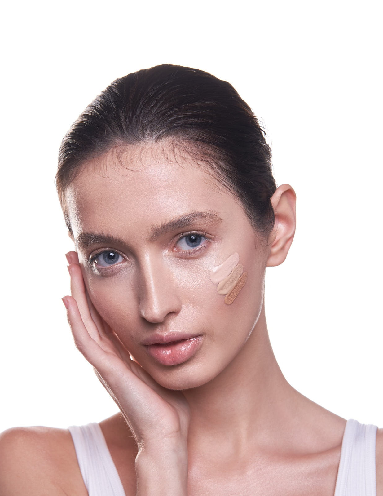 Profile Beauty Portrait with Glossier Skin Tint